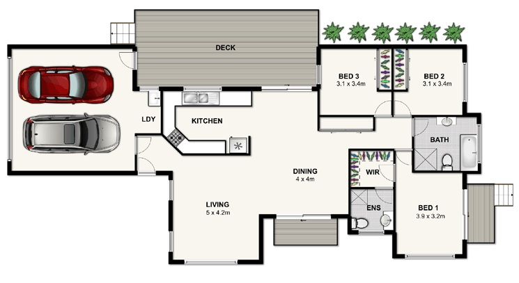 Brisbane house plans home design and style for Home designs brisbane