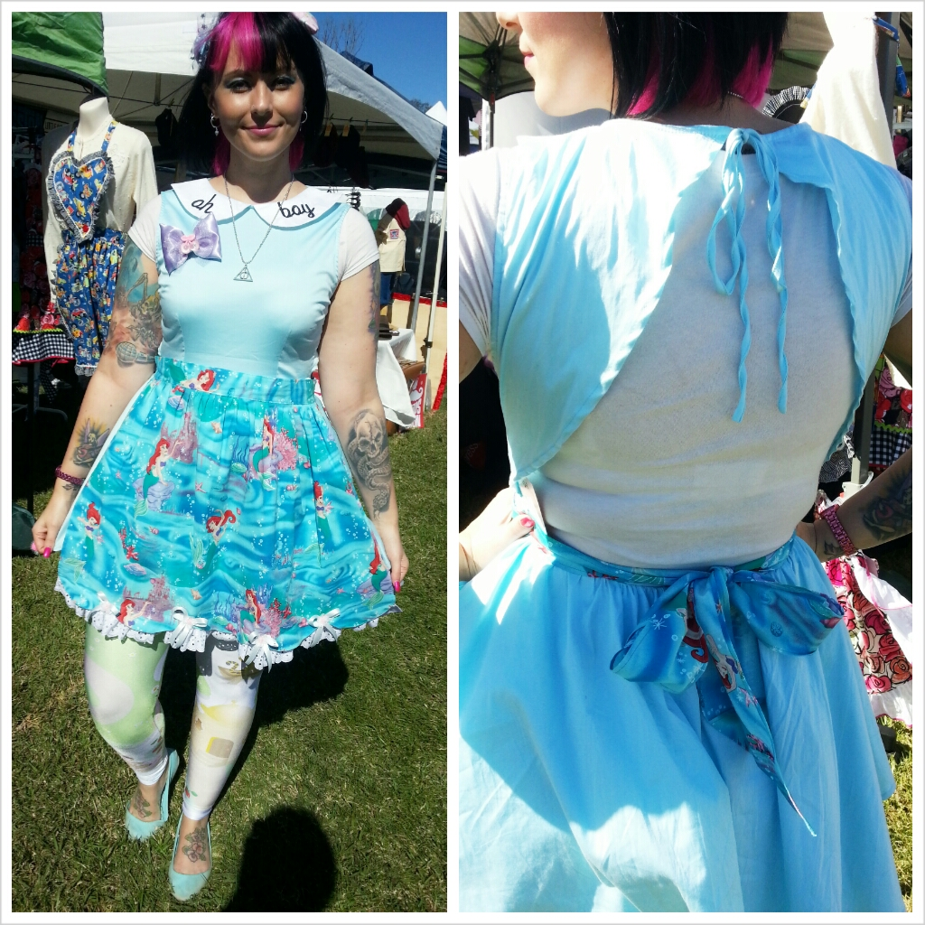 OOTD Greazefest kawaii blue