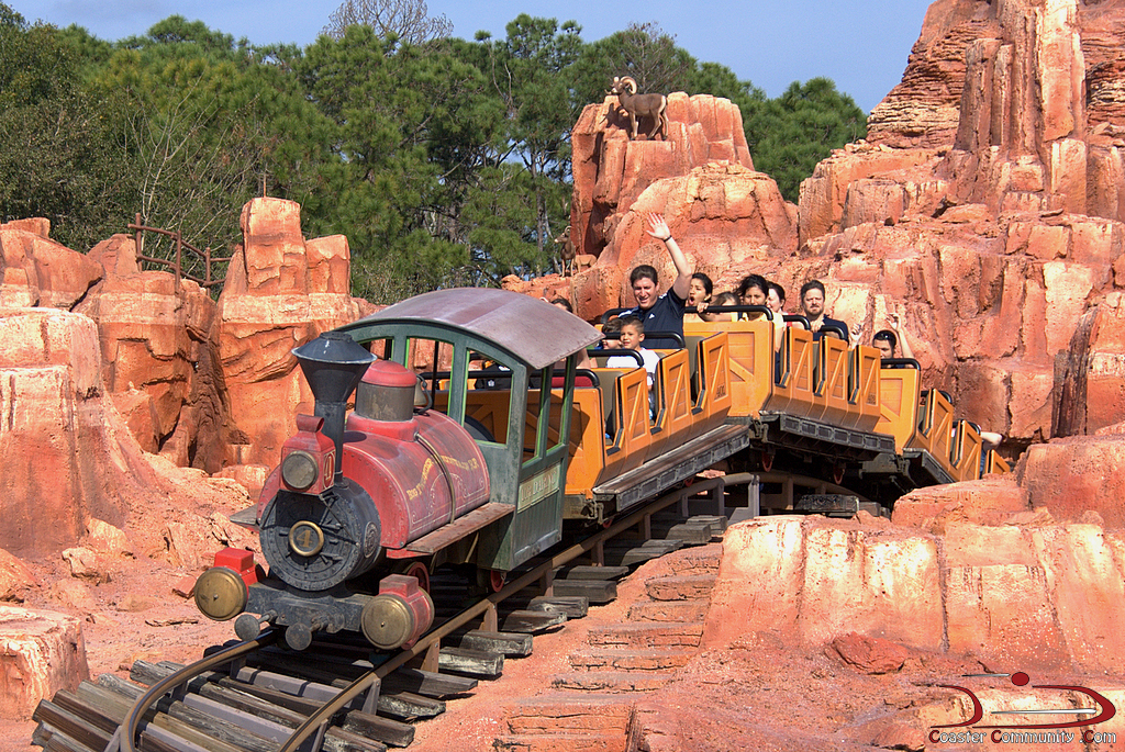 big thunder mountain railroad - photo #20